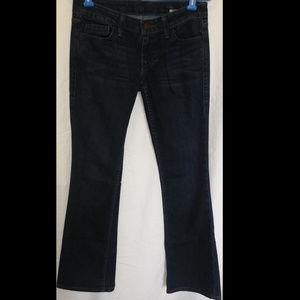 WILLIAM RAST Bootcut Jeans Size 26 Stretch Dark